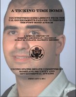 Cover of the Senate report on Hassan