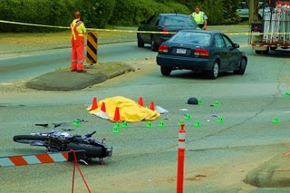 Motorcyclist killed